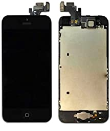 iPhone 5 Black Lcd/digitizer Full Assembly (USA Shipper)  Needs professional assistance to repair.