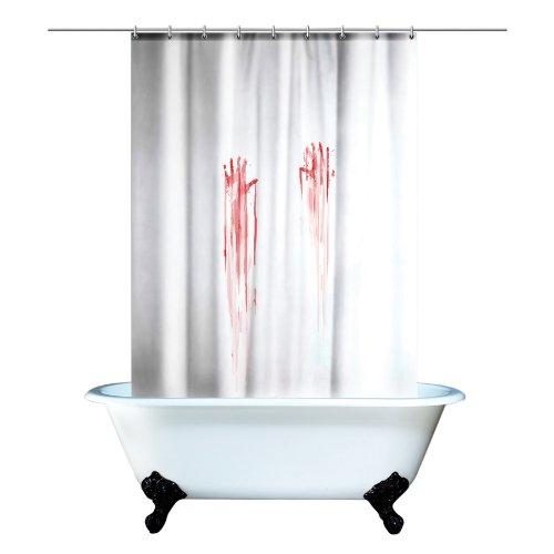 "Gift Republic ""Blood Bath"" Shower Curtain"