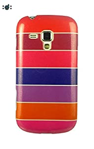 Dressmyphone Colorful Rainbow Soft TPU Jacket for Samsung Galaxy S Duos 2 S7582 and Samsung Galaxy S Duos S7562  Design 3    Multicolor available at Amazon for Rs.349