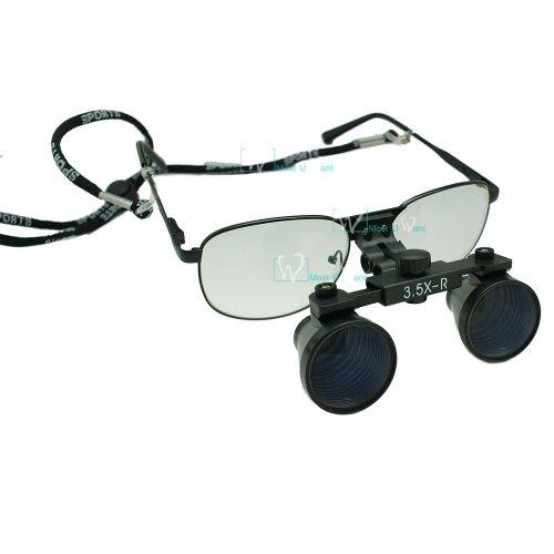 Dental Lab Surgical Medical Binocular Eye Loupe Glass 3.5X Amplification
