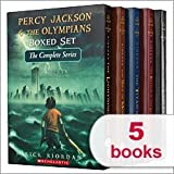 Percy Jackson & The Olympians Boxed Set The Complete Series 1-5: The Last Olympian, The Battle of the Labyrinth, The Titans Curse, The Sea of Monsters, The Lightning Thief (Percy Jackson and the Olympians)
