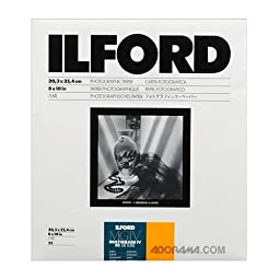 Ilford Multigrade IV RC Deluxe 25M Resin Coated VC Variable Contrast Black & White Enlarging Paper - 8x10\