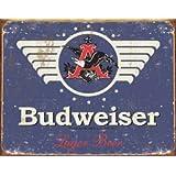 Tin Sign Budweiser 1936 , 16x13 ~ Poster Discount