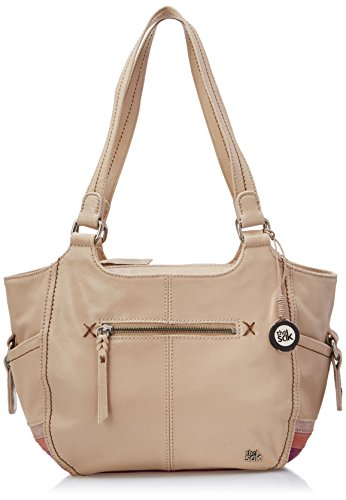 The Sak Kendra Satchel Top Handle Bag, Pink Stripe, One Size