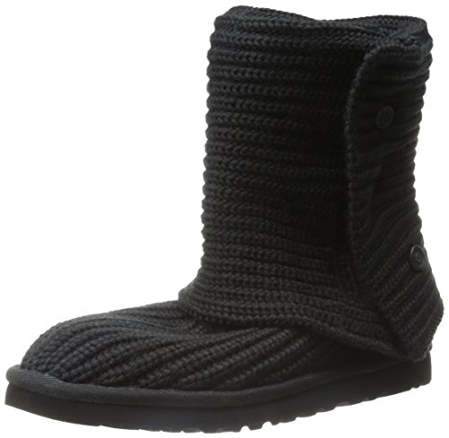 ugg-classic-cardy-black-size-9