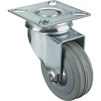 2in Swivel Plain Bearing Non-Marking CasterB0000AX03R