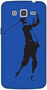 The Racoon Grip The Golfer hard plastic printed back case / cover for Samsung Galaxy Grand