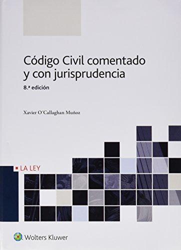 Código Civil comentado y con jurisprudencia (8ª ed.)
