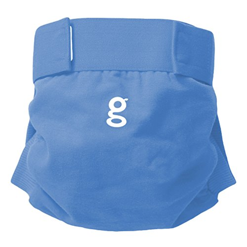 gDiapers Gigabyte Blue gPants, Large (22-36 lbs) (Compostable Diaper Inserts compare prices)