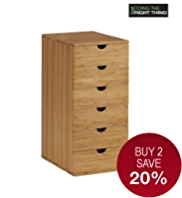 Sapporo 6 Drawers Chest