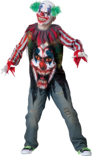 Big Top Terror Kids Costume - Large