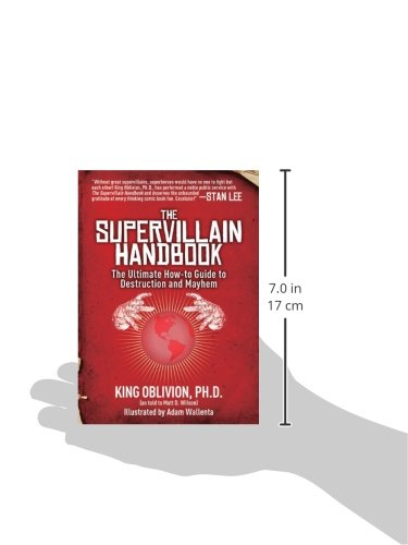 Supervillain Handbook: The Ultimate How-to Guide to Destruction and Mayhem
