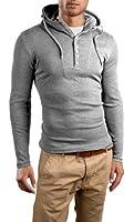 Grin&Bear Slim Fit Hoodie buttoned sweatshirt, GB120