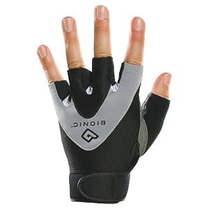 Bionic Men's StableGrip 1/2 Finger Fitness Gloves