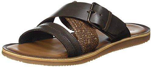 Shoemaker 8644234 Sandali a punta aperta, Uomo, Marrone, 41