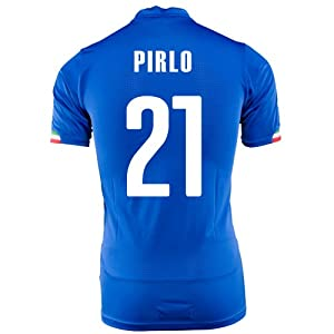 PUMA PIRLO #21 ITALY HOME JERSEY WORLD CUP 2014 (YOUTH) by PUMA