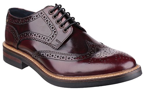 Base London Woburn Hi - Shine Mens pizzo scarpa Ord - 41