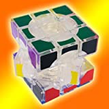 Lanlan 3X3X3 Void Puzzle Speed Cube Transparent