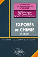Exposes Chimie Concours Caplp2 Maths Sciences Capes Physique Chimie Agregation Sciences Physique 2ed