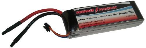 Thunder Power RC 1350mAh 3-Cell/3S 11.1V G4 Pro Power 30C LiPo Battery