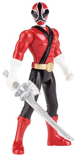 Power Rangers Super Megaforce - Samurai Red Ranger Action Figure, 4-Inch - 1