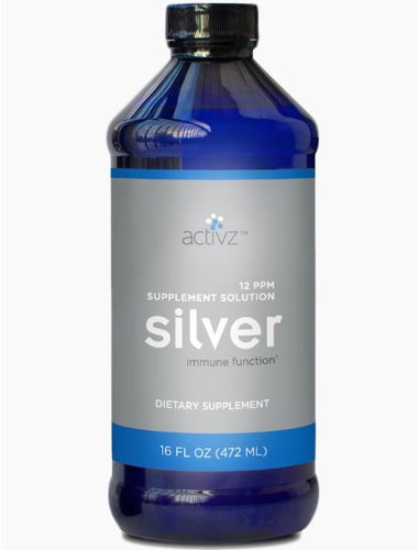 ASAP Silver Solution 10ppm - 16oz bottle