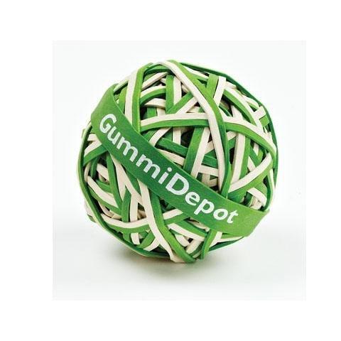 Gummidepot grün - weiss 2012380