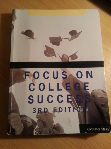 FOCUS ON COLLEGE SUCCESS (Focus on College Success)