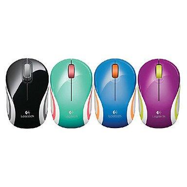 Zcl Logitech M187 2.4Ghz Wireless Mini Mouse 1000Dpi (Assorted Colors) , Purple