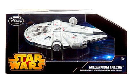 Star Wars The Empire Strikes Back Diecast Vehicle Millennium Falcon