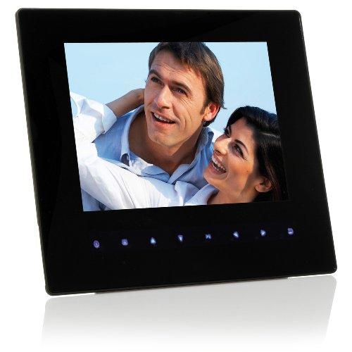 bresser dpf 810 digitaler bilderrahmen 20 4cm 8 zoll display multimedia video und audio. Black Bedroom Furniture Sets. Home Design Ideas