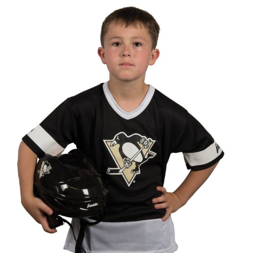 Franklin Sports NHL Pittsburgh Penguins Youth Team Uniform Set, Medium (Nhl Clothing compare prices)