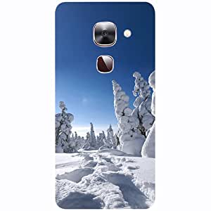 Casotec Winter In Finnland Design 3D Printed Hard Back Case Cover for LeEco Le Max 2