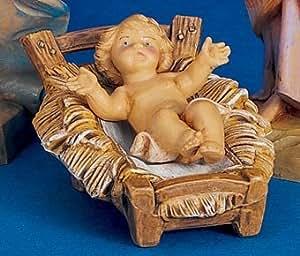 """Roman Fontanini 5"""" Baby Jesus Religious Christmas Nativity Figurine #72513"""