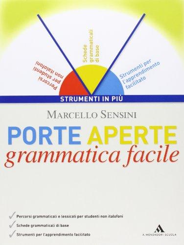 Libro porte aperte l 39 italiano per tutti grammatica for Porte italiano
