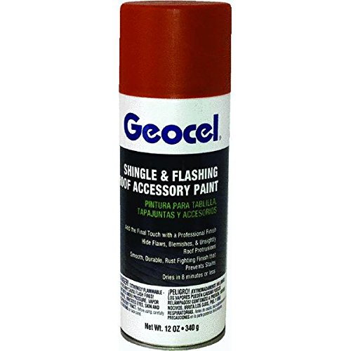 Geocel Corp. GC91135 Shingle & Flashing Roof Accessory Spray Paint (Shingle Paint compare prices)