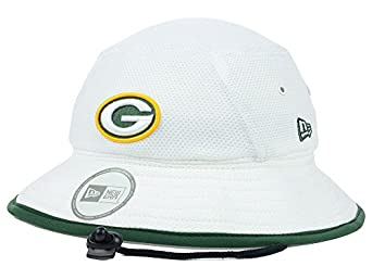 NFL Green Bay Packers Training Camp Bucket Hat, White, One Size Fits All