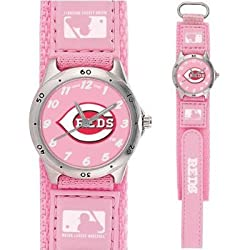 MLB Kids' MF1-CIN Future Star Series Cincinnati Reds Pink Watch