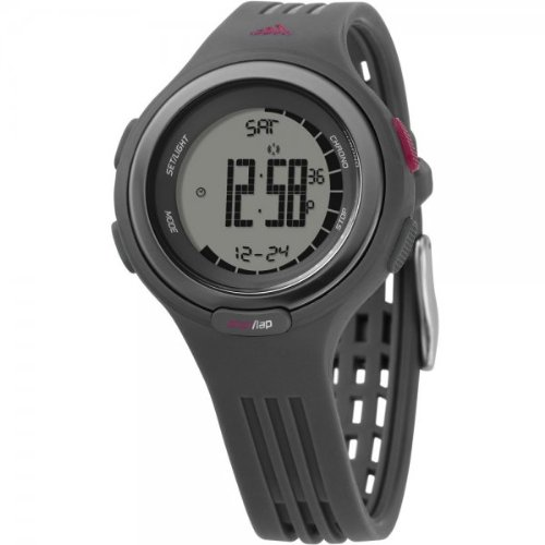 Adidas Sequence Grey Digital Ladies Watch - ADP3047