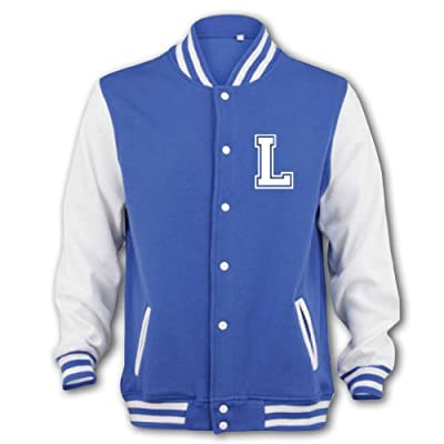 Unisex-Adult Louis Tomlinson Fan Jacket Medium Blue