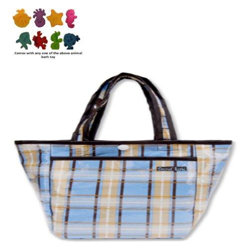 Diaper Bag - Rockstar Mini Tote & Purchasecorner Toy Bundle front-263790