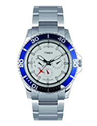 Timex E Class Multi Function  Chronograph Silver Dial Men's Watch TI000F80500
