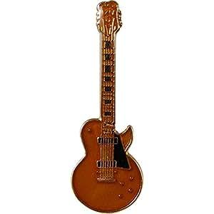 レスポール・カスタム ギター ミニピン 金 Les Paul Custom Guitar Mini Pin