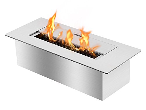 Ignis EB1200 Ethanol Fireplace Burner Insert (Ventless Fireplace Ethanol compare prices)