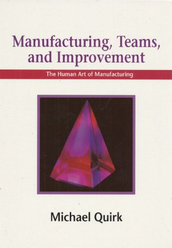 Manufacturing, Teams and Improvement: The Human Art of Manufacturing