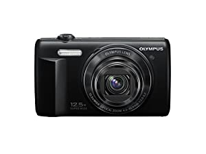 Olympus VR-370 16MP Digital Camera with 3-Inch LCD (Black)