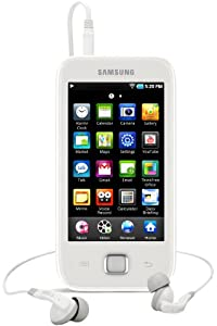 Samsung 8GB Galaxy Player 50 - White