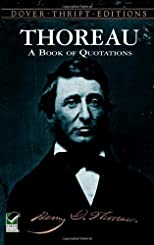 Thoreau : a book of quotations