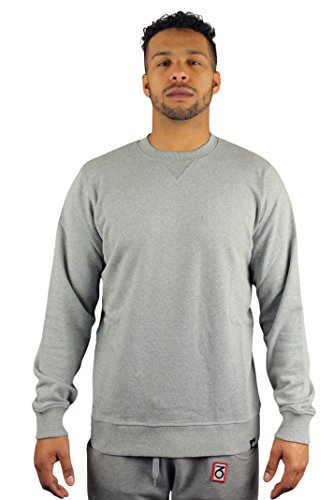 Dickies 02 200037 Washington, Felpa a girocollo, colore: grigio Melange Grigio grigio