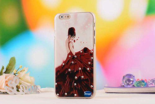 Iphone 6 4.7 Ultra Thin Case,Nancy'S Shop Colorful Painting Luxury 3D Bling Hard Phone Accessories Case And Covers For Apple Iphone 6 4.7 Inch Screen (Dancing Girl Nancy'S Shop Case Cover)